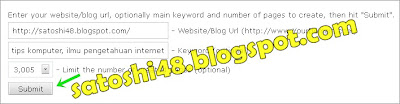 submit 3000 backlink