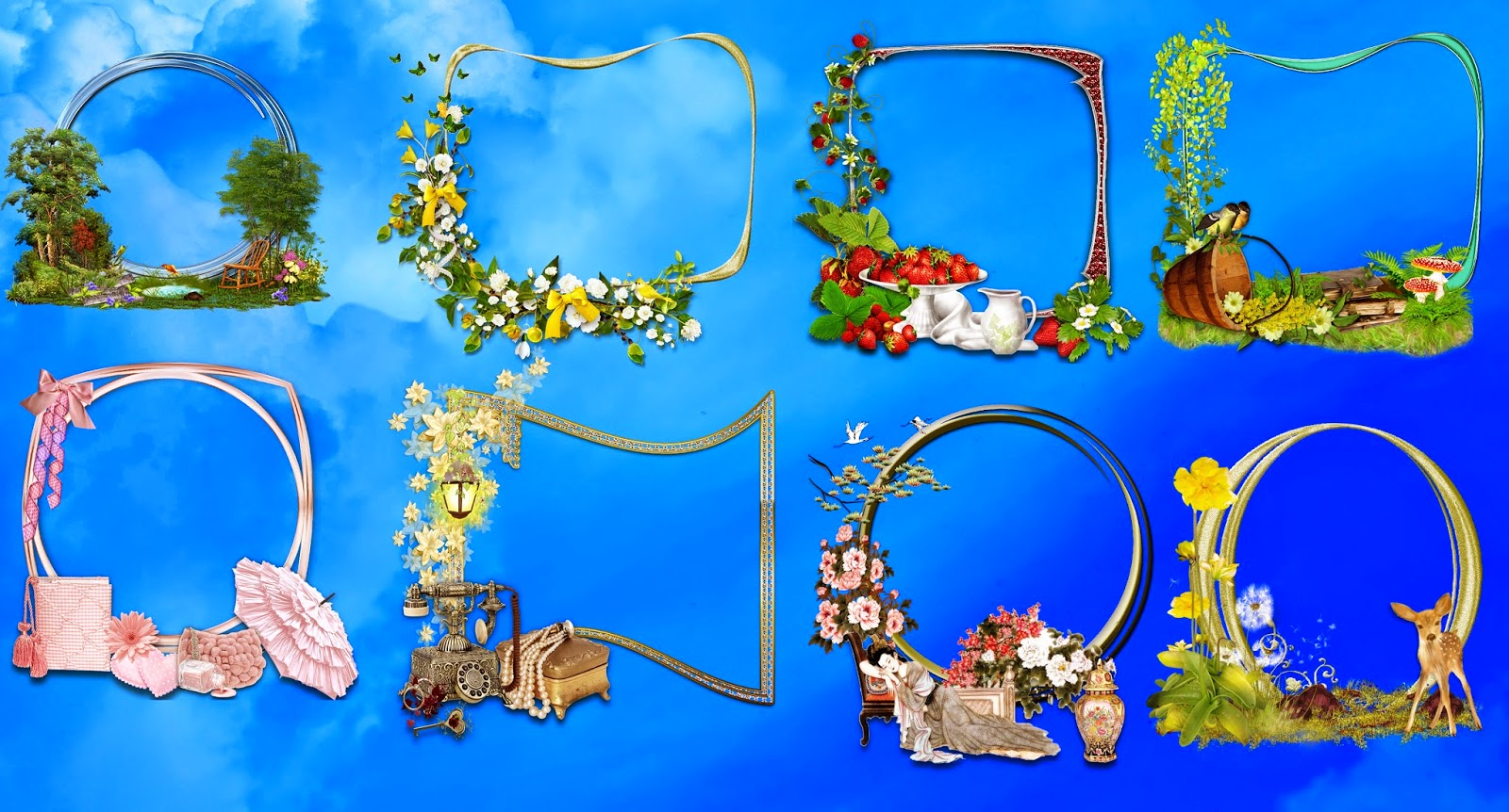Nice Frames png 2015 for Photoshop Lovers