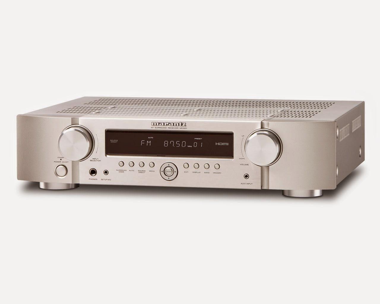 Marantz nr1501 av receiver audiobaza for Marantz or yamaha