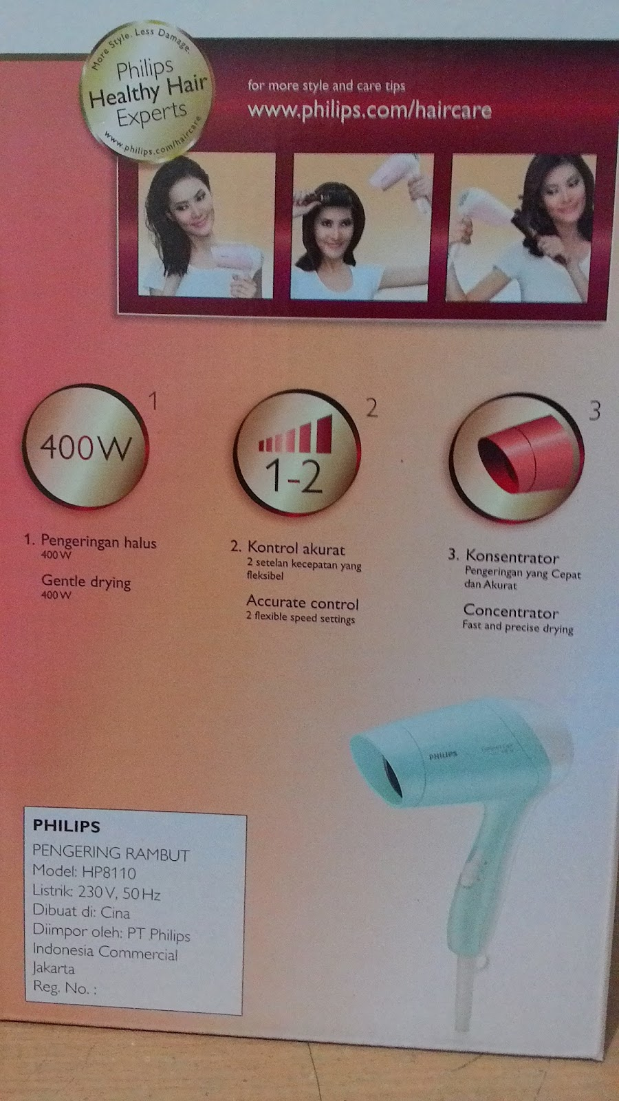 philips compact care HP8110/02
