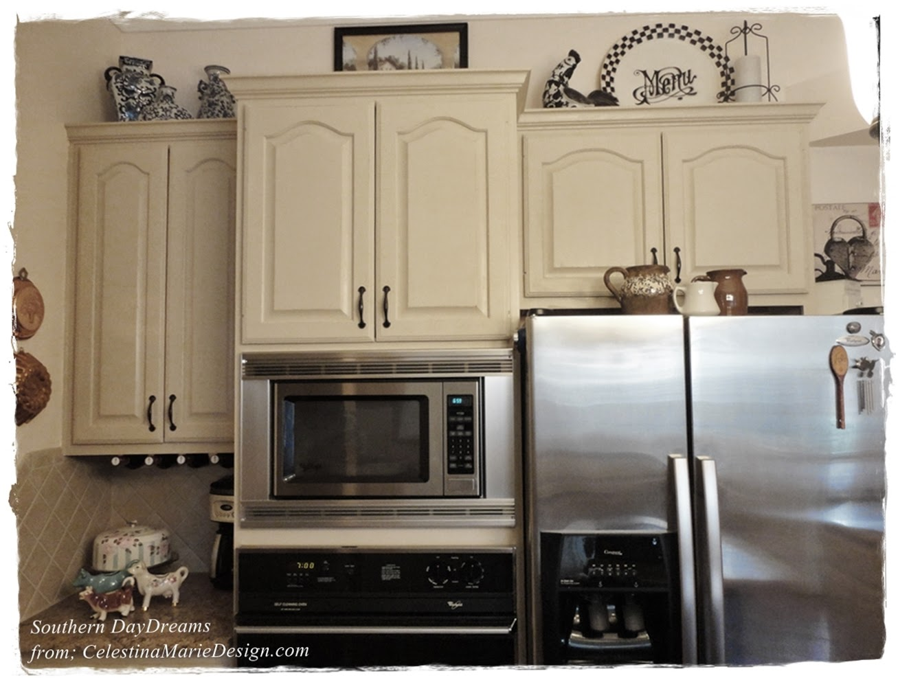 Painted Kitchen Cabinets~ Revealed! - Southern DayDreams