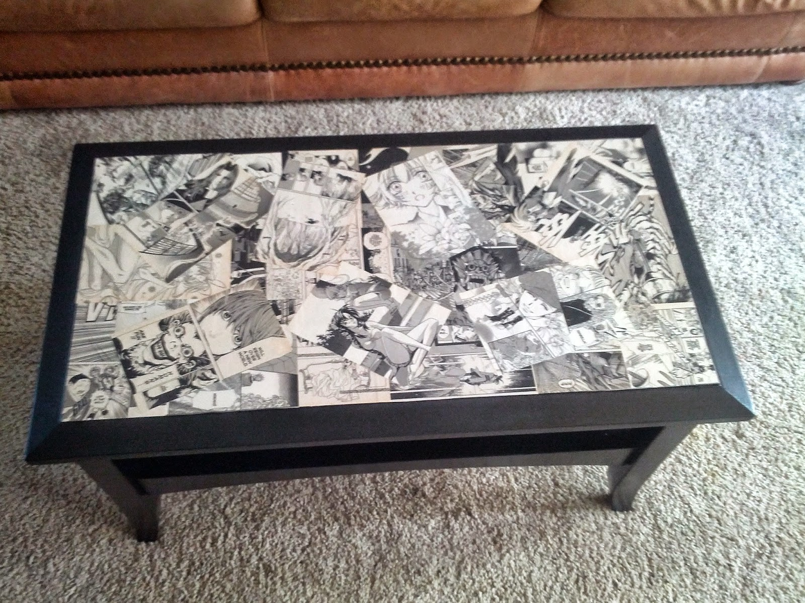 Stuff I Make Manga Coffee Table Makeover