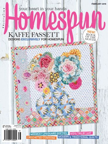 Seen in Homespun February 2015