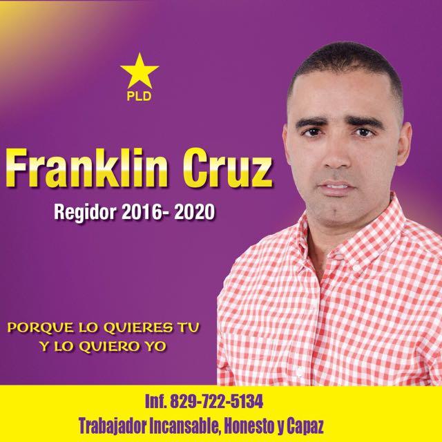 Franklin Cruz Regidor 2016-2020 PLD