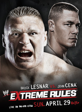 Extreme Rules starring Brock Lesnar