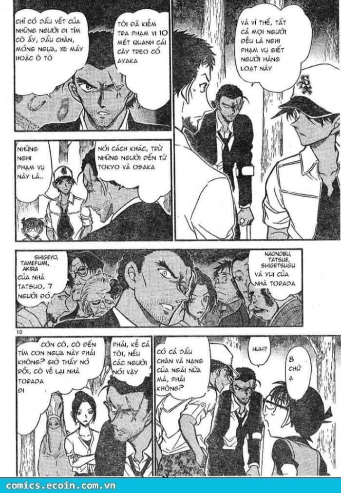 Detective Conan - Thám Tử Lừng Danh Conan chap 616 page 10 - IZTruyenTranh.com