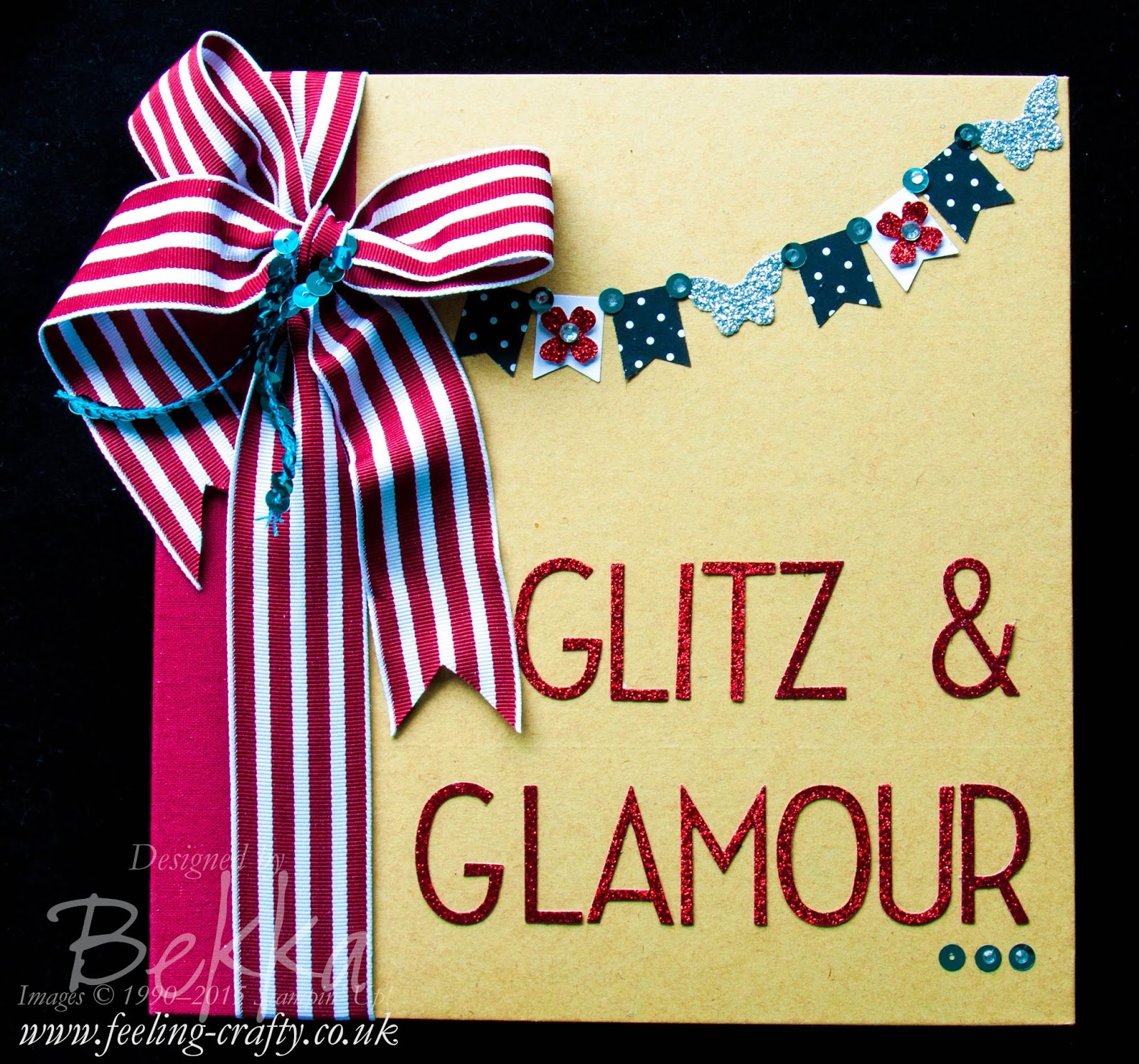 Glitz & Glamour Party Project Life Album - check this card for lots of cute ideas