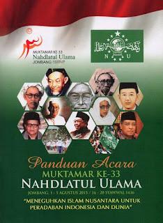 Download Buku Panduan Lengkap Muktamar ke-33 Nahdlatul Ulama