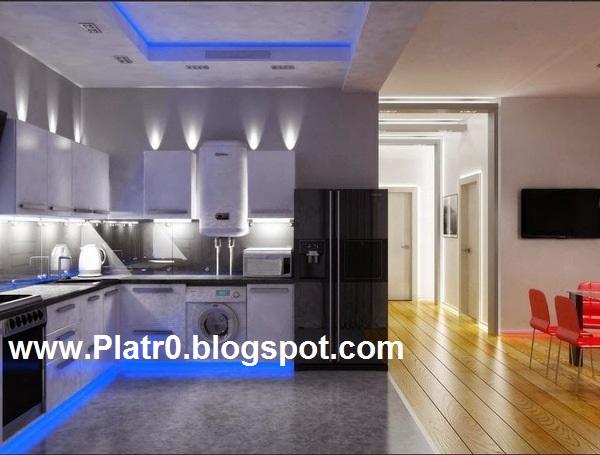 Plaster Decoration Kitchen - Décoration Platre Maroc ...