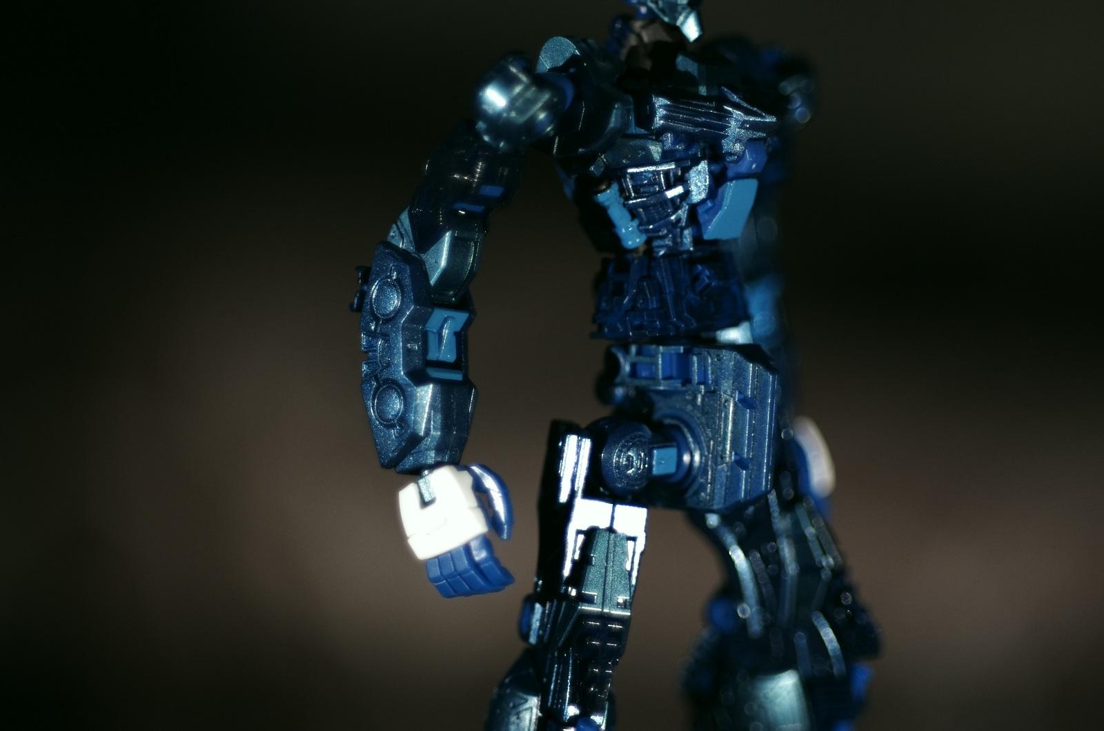 K5模型攝影分享: MG Blue Frame