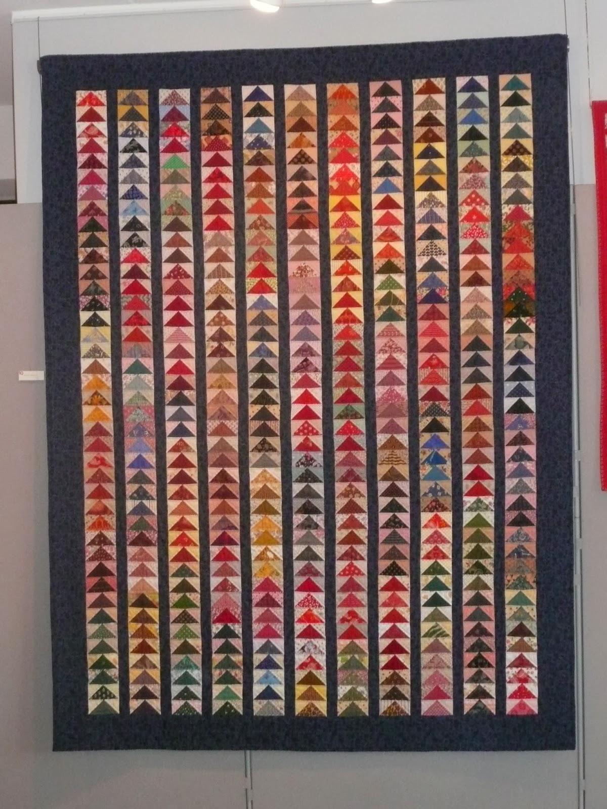Mijn quilt avontuur tentoonstellinkje for Quilt maken met naaimachine