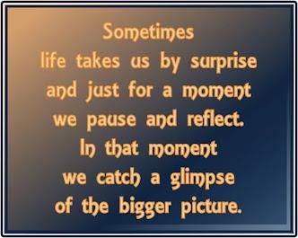 Sometimes...