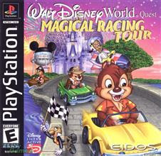 Super Compactado Walt Disney World Quest Magical Racing Tour PS1