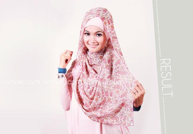 Jilbab Segi Empat Motif Modis Cara Memakai Jilbab Kreasi Modern