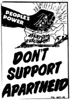 anti apartheid poster
