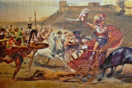 characterization of achiles in the iliad Find out more about the history of achilles, including videos, interesting articles  in his iliad, homer does not explain what happened to achilles.
