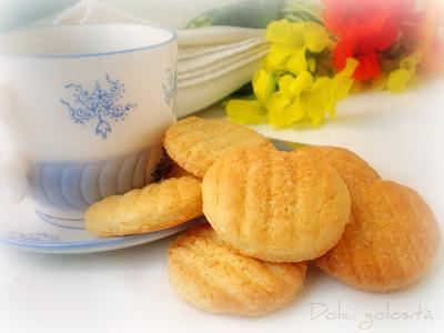 Dolci golosità: Biscotti con farina di riso