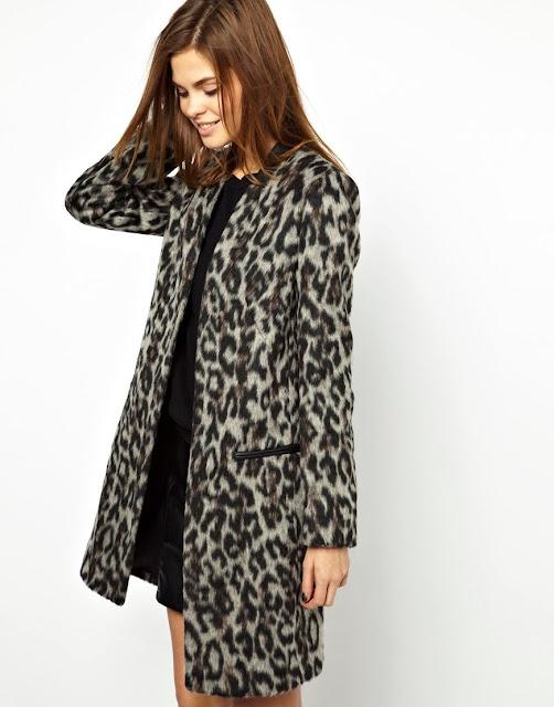smart leopard coat
