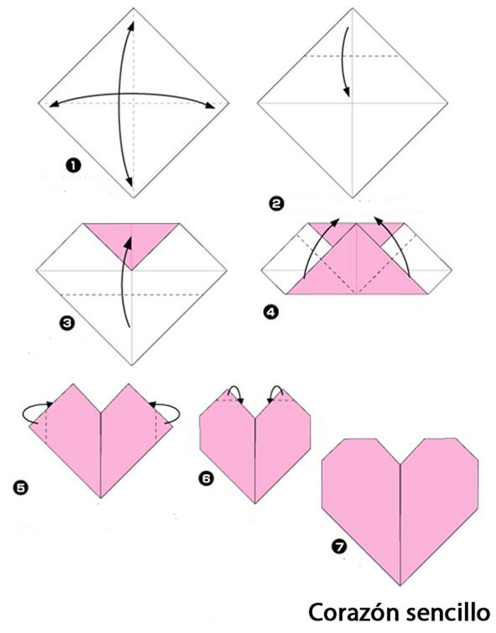 Corazones con deseos ♥ / Origami al alma