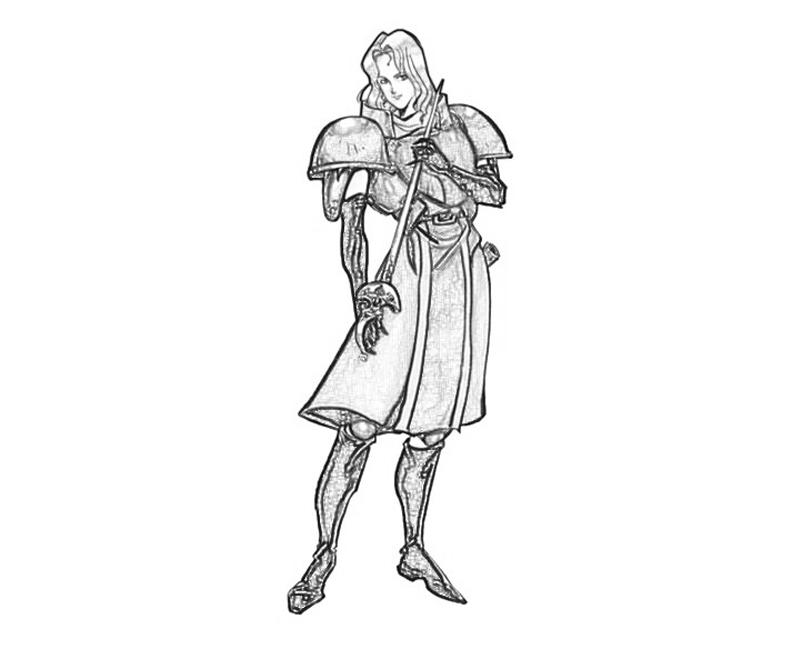 Warrior Princess Coloring Pages
