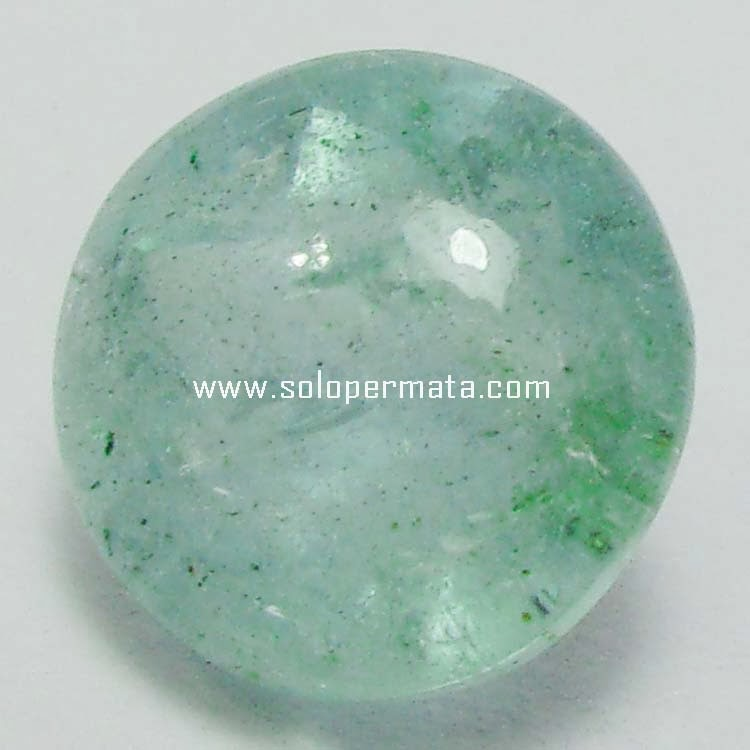 Batu Permata Greenish Blue Beryl Aquamarine - 08B02