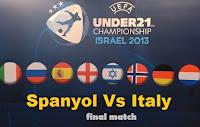 Jadwal Final Piala Eropah 2013 U-21
