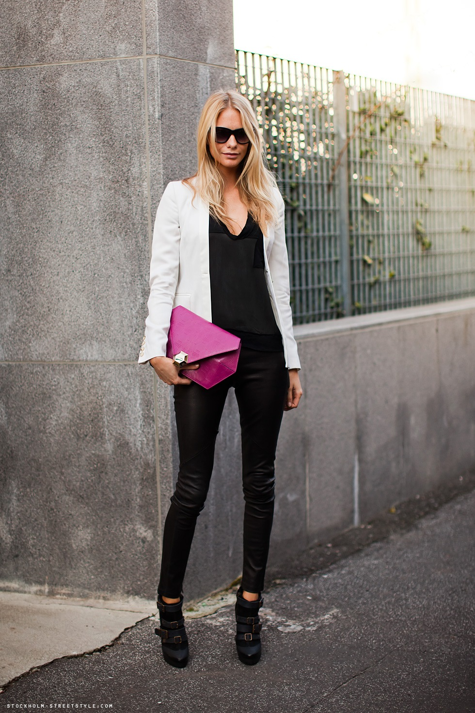 Style Scented How To Wear White Blazer