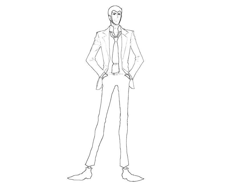 printable-lupin-sansei-arsene-lupin-iii-smile_coloring-pages
