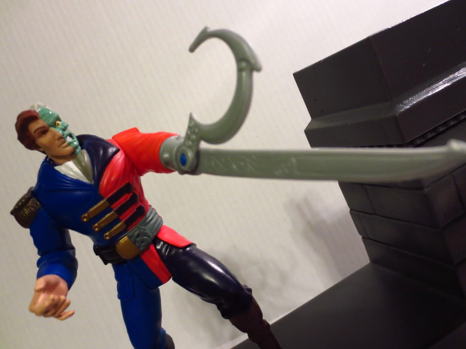 Hook Swords Hook Hand With a Sword