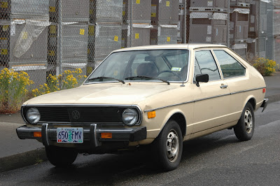 1975 Volkswagen Dasher Hatchback.