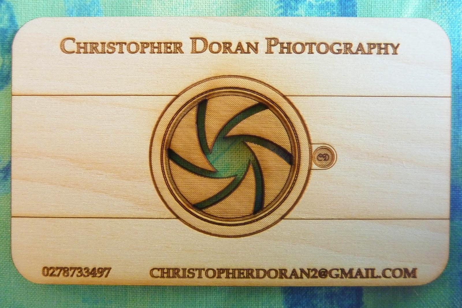 Laser Cut Business Cards | Kevin Doran - Laser Cutting