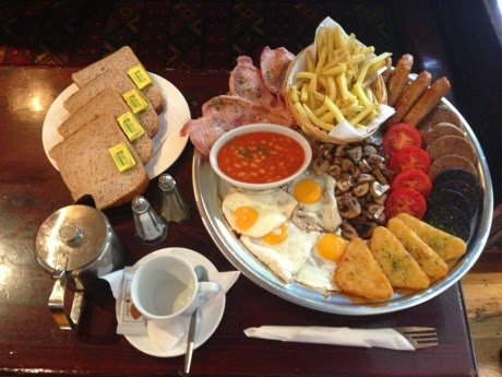 typical Irish breakfast