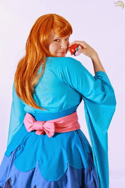 Furisode Girl Pokemon X Y Cosplay