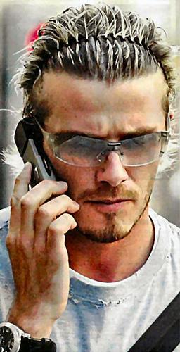 Extream Fashion David Beckham Hair