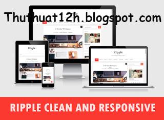 Template Blogspot cá nhân đẹp chuẩn SEO 2015