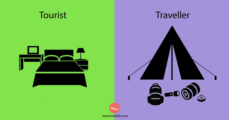 #9 Tourist Vs Traveller - 10+ Differences Between Tourists And Travellers