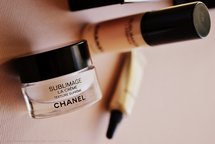 Chanel Skincare Sublimage Creme Serum Eye Cream Samples Indian Makeup Beauty Blog