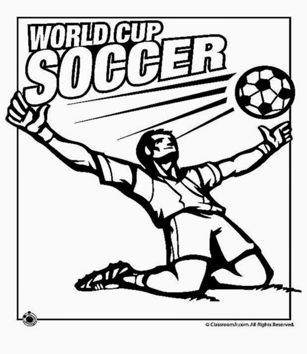 Soccer coloring sheets free coloring sheet for Cup coloring page