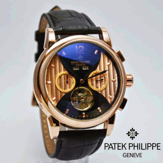 Patek Philippe All Time IX swasa hitam