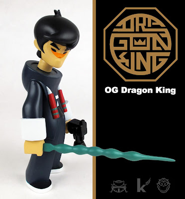 OG Edition Dragon King Vinl Figure by kaNO