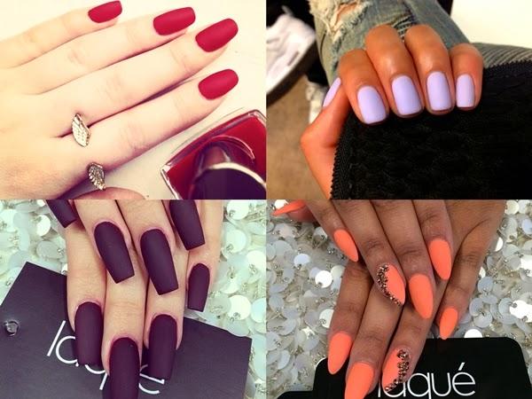 nails art matte