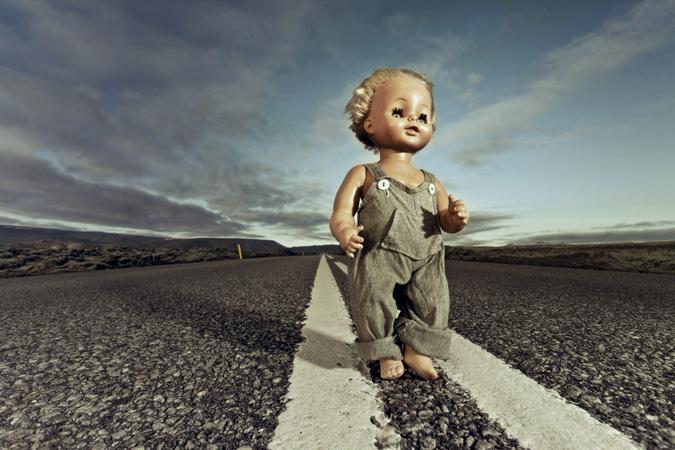 Rebekka Guðleifsdóttir. Photography . Dolls