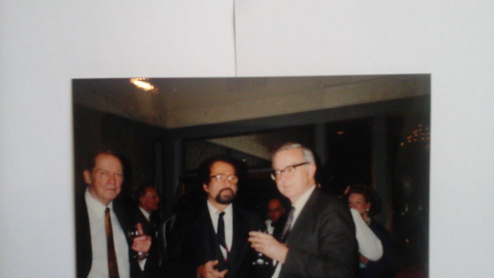 5 - Naum. Kliksberg con el Dr. Ian Stivenson Director de Investigaciones de la