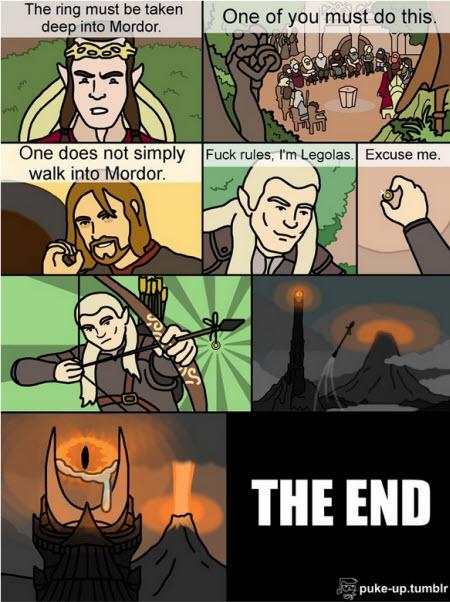 Walk into Mordor?