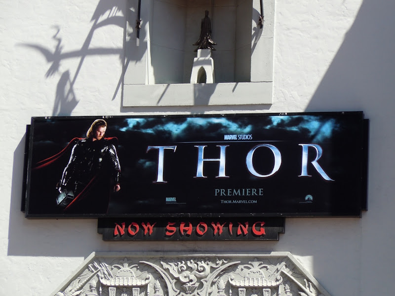 Thor premiere poster