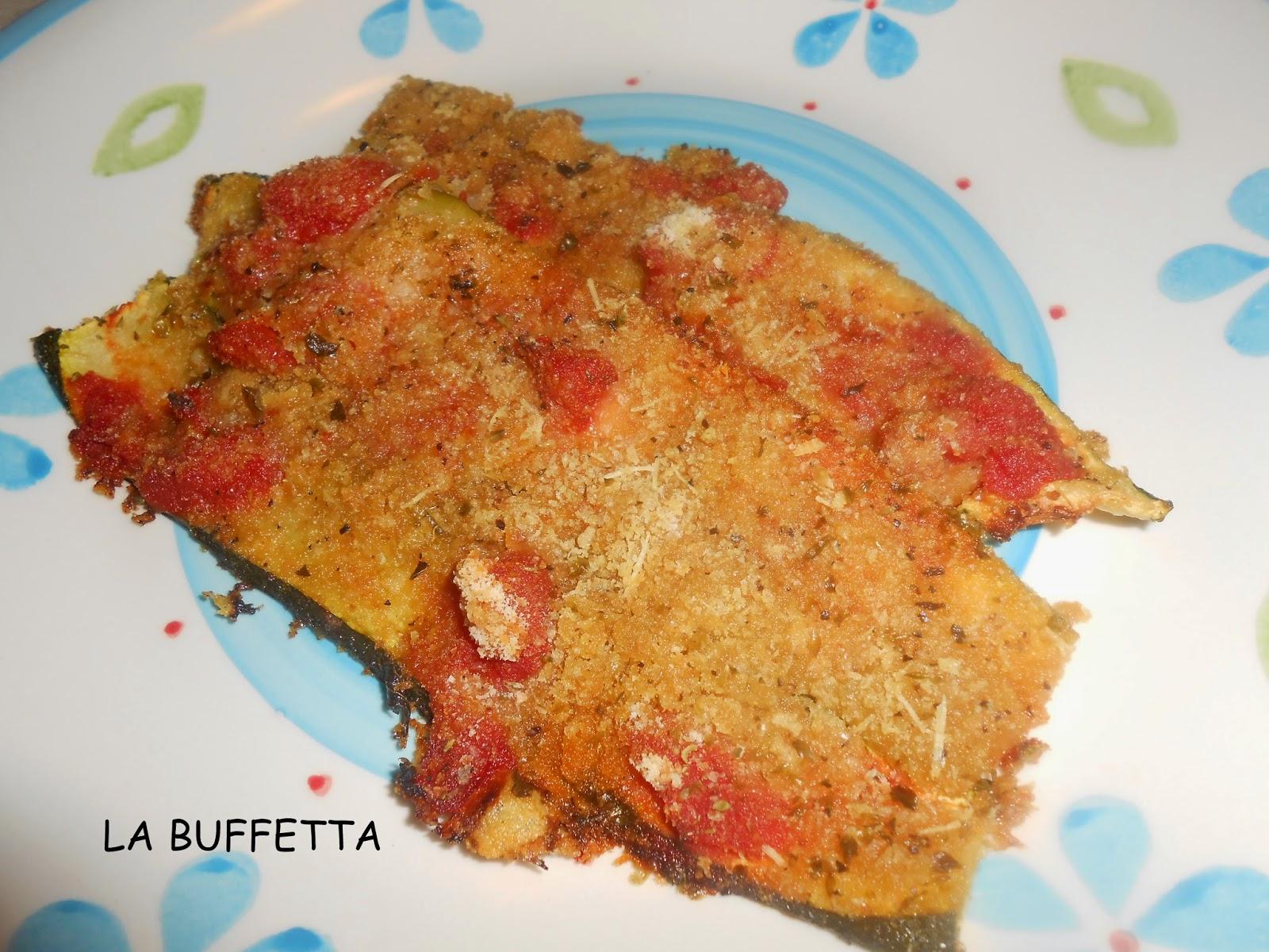 zucchine al pomodoro gratinate al forno
