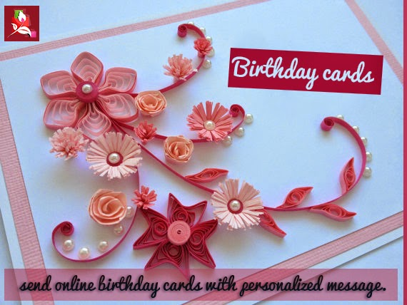 Send Online Birthday Cards With Personalized Message Blossomsquare