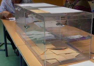 Votos perdidos, urnas, abstención