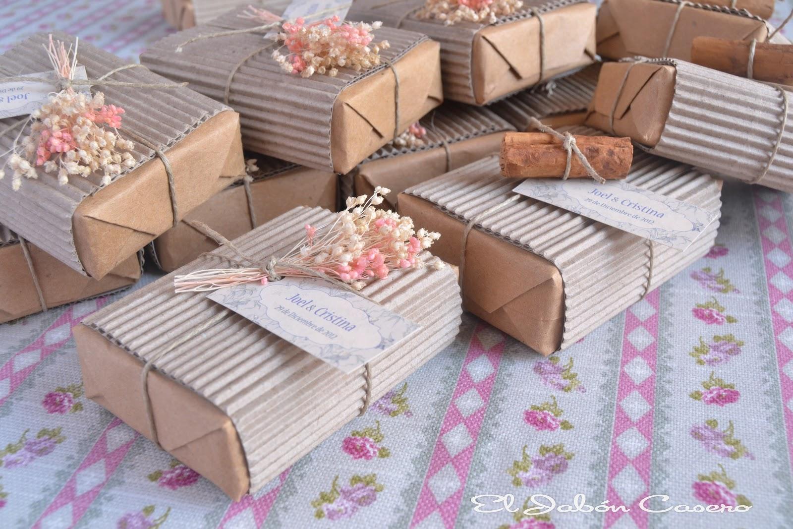 El jab n casero detalles de boda para ellas y ellos - Detalles decoracion boda ...