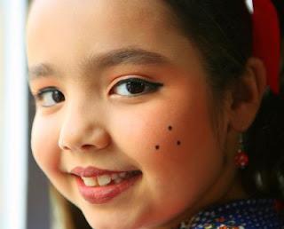 Como fazer maquiagem infantil para as Festas Juninas